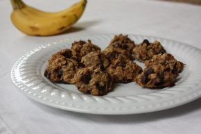 Oatmeal Chocolate Chip Banana Cookies