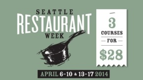 Seattle Restaurant Week + Certified Organic Restaurants