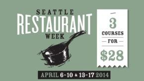 Seattle Restaurant Week + Certified OrganicRestaurants