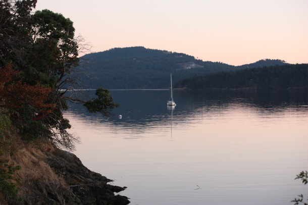 View from East Sound, Orcas Island